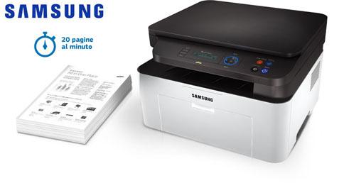 Samsung xpress m2070 stampante multifunzione laser per for Mobile per stampante ufficio