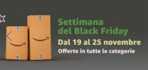 Black Friday Amazon 2018: una settimana di offerte